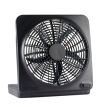 ❤ NEW Black 10in Battery Operated Portable Fan-2 Settings - Runs on 8D B... - $28.49
