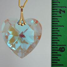 Swarovski Crystal Faceted Heart Prism image 7