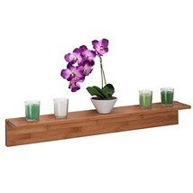 Honey-Can-Do SHF-04412 Bamboo L-Shaped Wall Shelf with Mounting Hardware... - $127.23