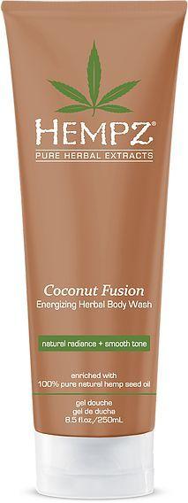 Hempz Coconut Fusion Body Wash,  8.5 oz