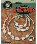 HEMP Jewelry Kit - Makes up to 5 Projects (Raw Rope Shell Kit) - $13.92