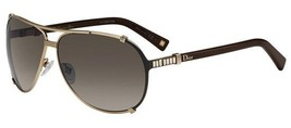 78643a5e24f Dior Sunglasses Chicago 2 STR Gold-Black Brown Strauss UPX-HA w  Brown