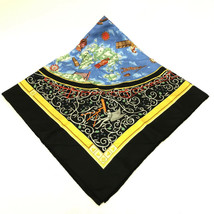 AUTHENTIC HERMES WWW.HERMES.COM Carre 90 Scarf Black Silk - $270.00