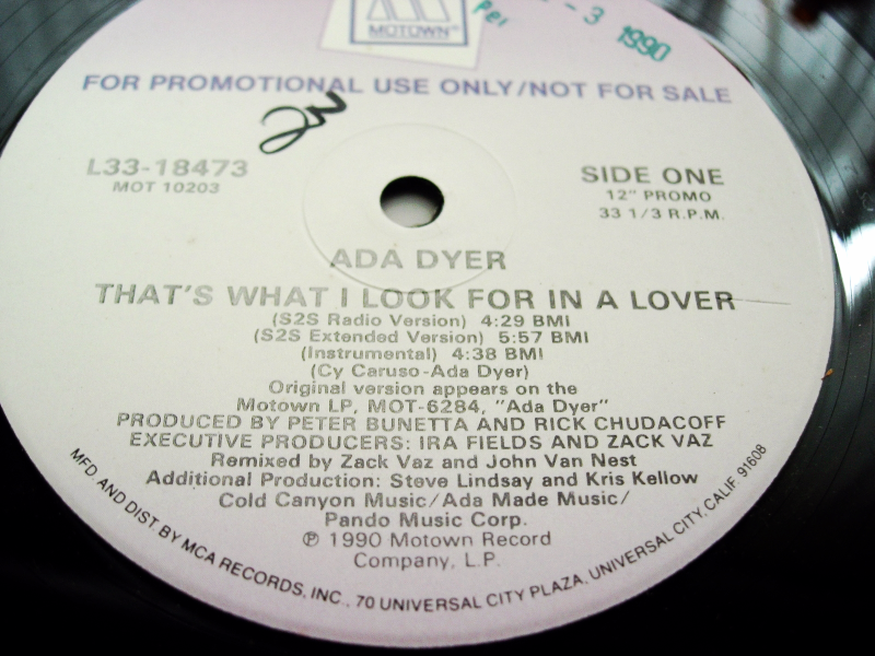 Ada Dyer - That's What I Look For In A Lover - Motown L33-18473