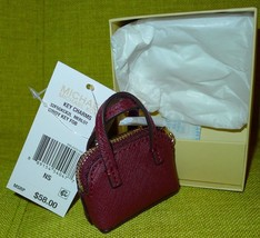 Michael Kors Cindy Key Fob Bag Charm Coin Purse Leather New in Box **Mer... - £40.63 GBP