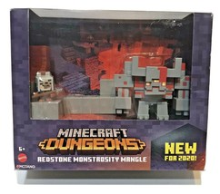 Minecraft Dungeons Redstone Monstrosity Mangle Mojang 2020 Mattel New - $15.57