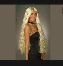 Adult Wig Blonde Renaissance Witch Costume Mesmerelda Wig halloween costume - $18.37