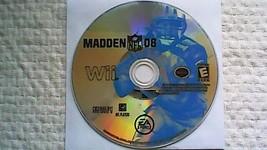 Madden NFL 08 (Nintendo Wii, 2007) - $2.95