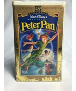Peter Pan (VHS, 1998, 45th Anniversary Limited Edition)#12730 previously... - $3.70