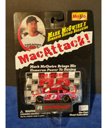 "MAC ATTACK ""MARK McGWIRE HOME RUN RECORD"" 1999 NASCAR CHEVROLET MONTE CA... - $3.75"