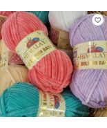 6 Skeins !!! Himalaya  Dolphin baby, Knitting Baby, Velvet (choose color... - $15.44