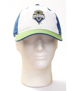 Adidas Seattle Sounders FC Baseball Cap Hat Adjustable Adult One Size NWT - $22.27