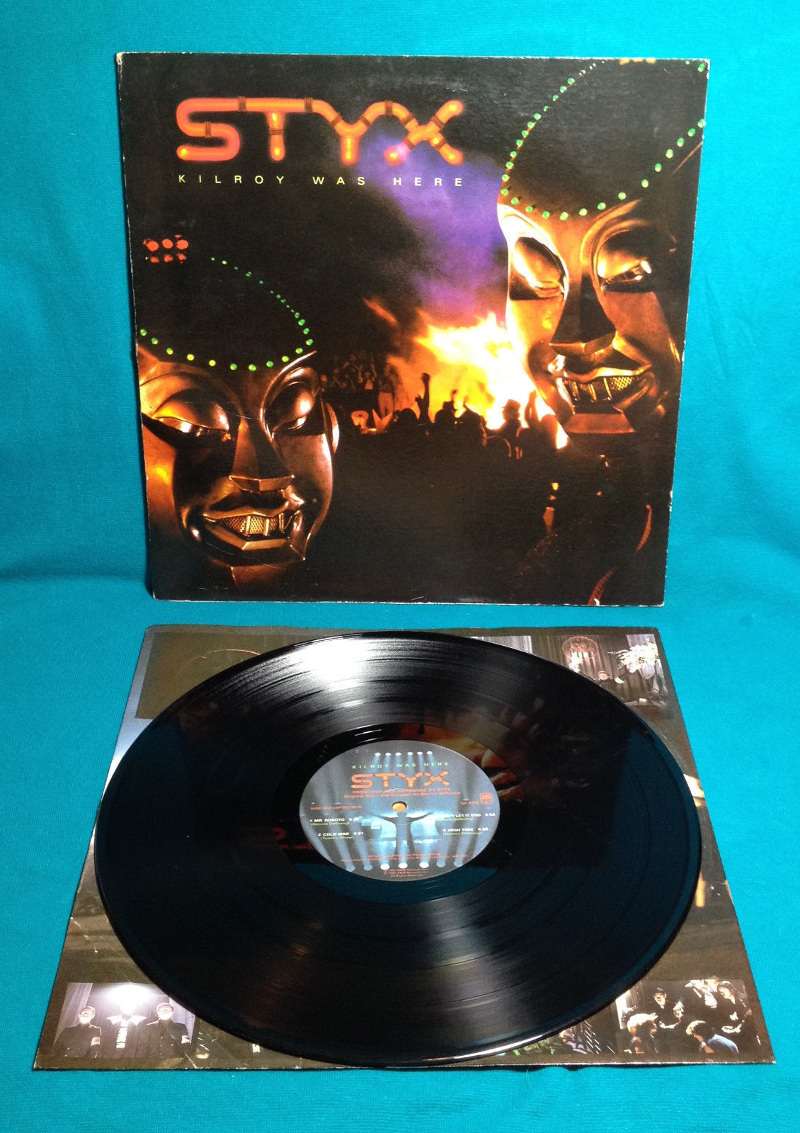 Styx Kilroy Was Here LP Vinyl Record 1983 A&M Gatefold Music Album VERY GOOD