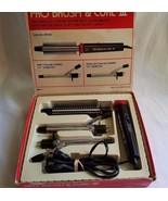 Vtg. K-Mart Pro Brush & Curl-lll Model 06-26-58 3 Attachments Tested All... - $21.95