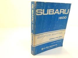 1977 Subaru 1600 Engine And Body Service Manual MSA-108 - $24.99