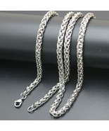 Fashion Pendant Necklace Chain 316L Stainless Steel 2.5mm 3mm 4mm 5mm La... - $11.76