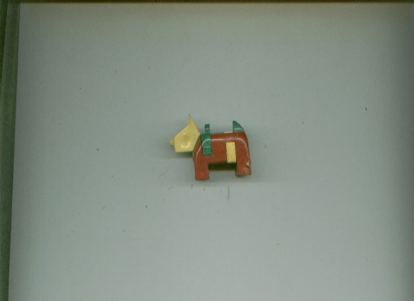 PLASTIC TAKE-APART PUZZLE TOYS Mexican on Donkey/Dog from Italy