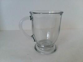 Clear Glass Large Coffee Tea Mug Cup 16ozs - $11.13