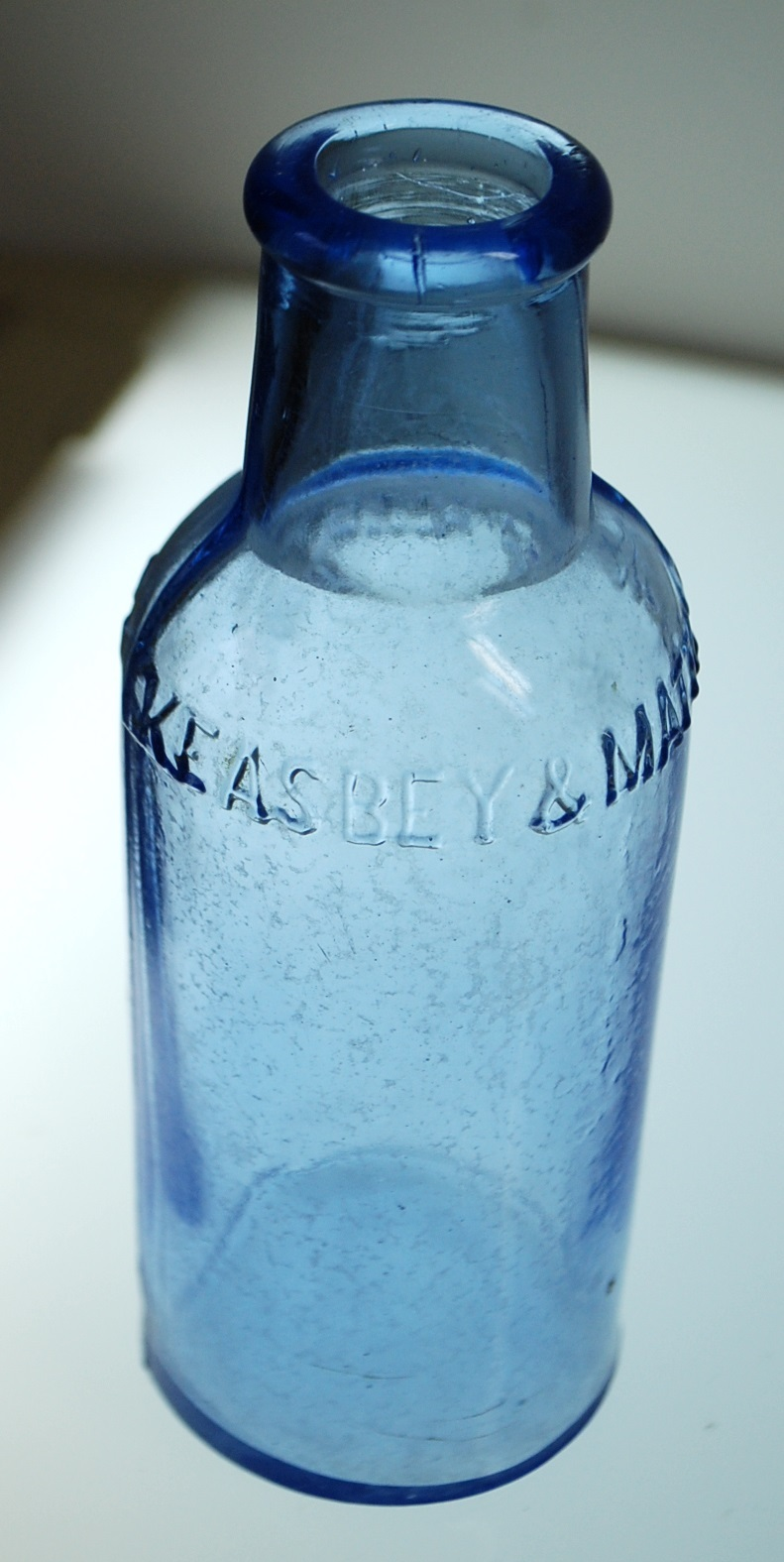 Keasbey & Mattison Co Blue Medicine Bottle and 50 similar items