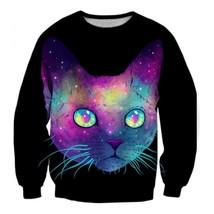 Vibrant 3D Outerwear Sweatshirt - $36.58