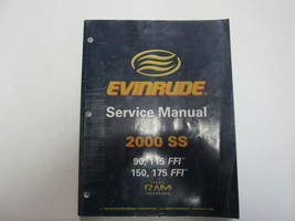 2000 evinrude ss 90 115 150 175 workshop repair service ffi 787063 manual - $99.12