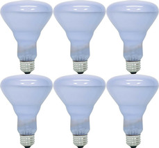6 GE Reveal HD+ 65-Watt R40 Incandescent Indoor Floodlight Light Bulb 84321 NEW image 1