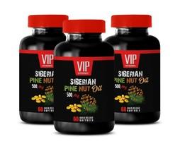 super antioxidant supplement - SIBERIAN PINE NUT OIL 500 - digestion plu... - $30.81