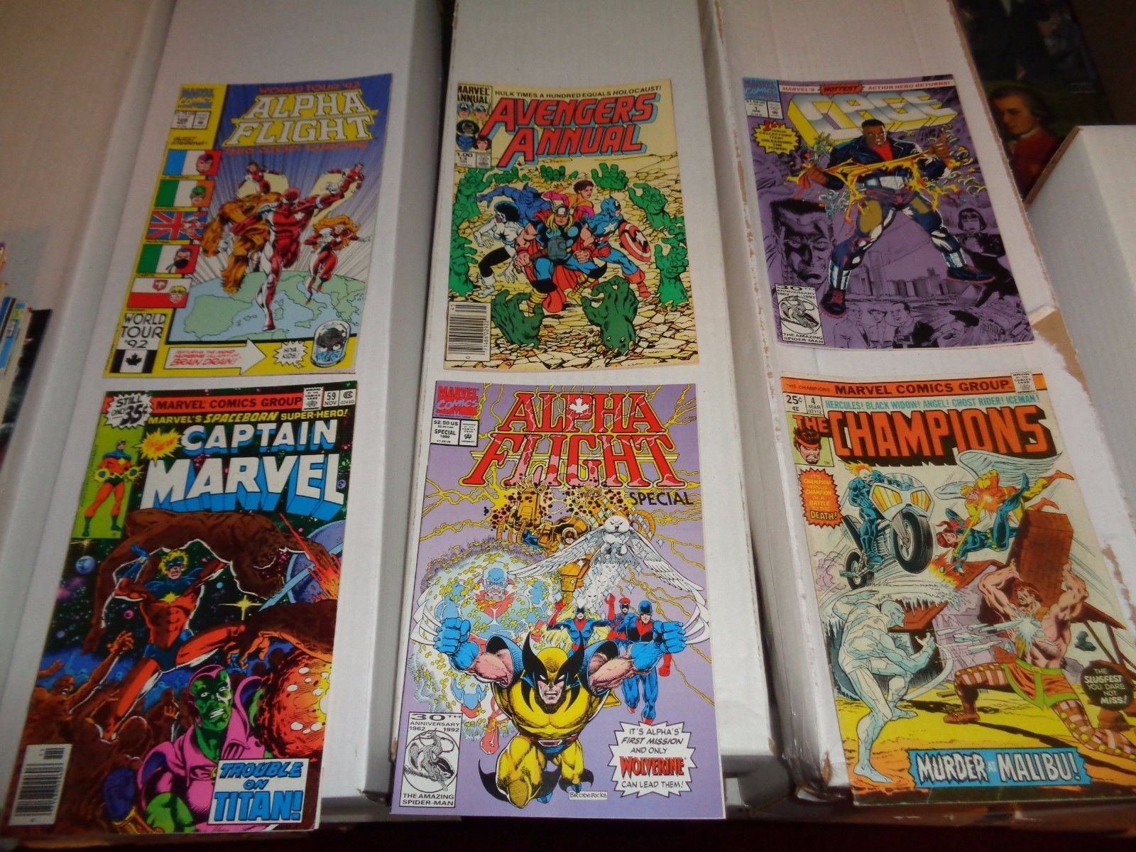 Marvel Comic Book Lot of 60 MOST MOST FN - VF Condition X-Men Daredevil Iron Man