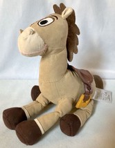 "10"" Disney Store Toy Story Woody Horse BULLSEYE Plush Stuffed Toy Doll A... - $8.59"
