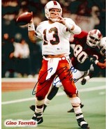 Gino Torretta signed Miami Hurricanes 8x10 Photo 92 - $15.95