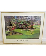 Mark King Martin Lawrence limited edition 1989 print lithograph Golf Course - $120.00
