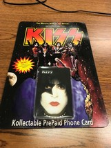 KISS KC #4 Creative Communications Collectible Phone Card 1996 NIP - $9.89