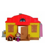 Masha And El Bear The Home With Figures Accessories Of Simba Toys Toy TV... - $207.10