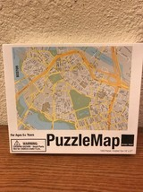 """Design Ideas PuzzleMap, Boston 19"""" X 27"""" New in factory sealed box - $14.95"""