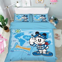 3D Cartoon Dog 2 Bed Pillowcases Quilt Duvet Cover Set Single Queen King Size AU - $64.32+