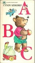 A B C Cindy Szekeres Golden Sturdy Book 1992 - $4.90