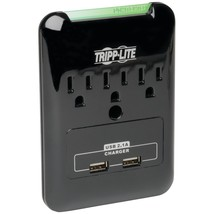 Tripp Lite 3-outlet Surge Protector With 2 Usb Ports TRPSK30USB - $32.43
