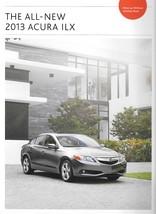 2013 Acura ILX sales brochure catalog US 13 HYBRID Honda - $8.00