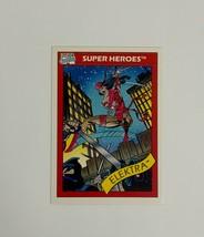 Marvel Universe 1990 Series 1 49 Elektra Trading Card Super-Villains - $1.97