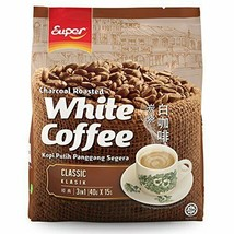 Super Brand / Charcoal Roasted White Coffee Classic (15s x 40g) - $23.75