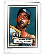 Mickey Mantle 1990 R&N China Topps Porcelain Hamilton Collection Dream T... - $20.79