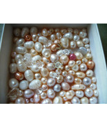 New 100pc Freshwater pearls Bead Mix Jewelry Supplies Bridal craft mix - $9.21