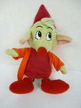 Disney Store Cinderella Mouse Jaq Plush Doll Red Shirt Orange Jacket 9 Inch - $16.82