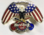 Hard Rock Cafe ORLANDO July 4, 2007 American Eagle Pin