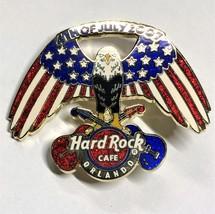 Hard Rock Cafe ORLANDO July 4, 2007 American Eagle Pin - $6.95