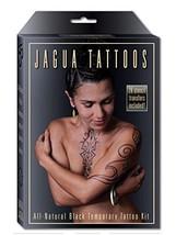Earth Henna Organic Jagua Black Temporary Tattoo and Body Painting Kit - Black - $24.16
