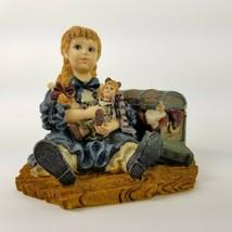 Boyds Bears Yesterdays Child Dollstone Jennifer with Priscilla Figurine ... - $20.56
