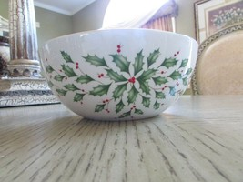 """LENOX HOLIDAY SENTIMENT BOWL HOME IS WHERE THE HEART IS NEW W/TAG 7-1/8"""" - $14.80"""