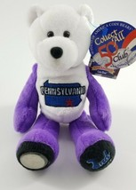 Limited Treasures Pennsylvania Quarter Coin Bear Plush 2nd State Collectible - $17.80