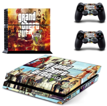 GTA 5: Grand Theft Auto 5 PS4 Skin Cover Skin Sticker For sony PlayStation 4 PS4 - $19.00